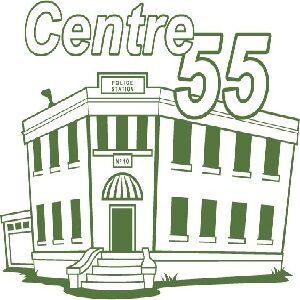 Logo for Centre 55. Click here to go to their website.