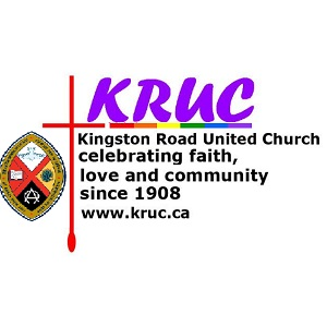 Logo for the Kingston Road United Church. Click here to go to their website.