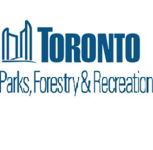 Logo for the Toronto Department of Parks, Forestry, and Recreation